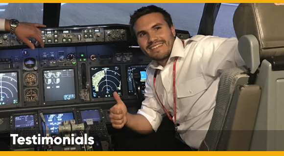 Jet Flight Training - Testimonial Page